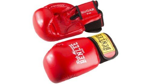 Ben Lee Herren Sugar Boxhandschuhe, rot, 8