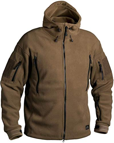 Helikon-Tex Patriot Jacke -Double Fleece- Coyote, Braun, XL