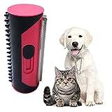 Haustier Hundebürste Katzenbürste, Haustier Bürsten, Fusselbürste für Hundehaare Katzenhaare, Enthaarungsbürste Pflege-Werkzeug für langes Haar lockige Haustiere
