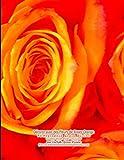 Décorer avec des Fleurs de Roses Orange Photographie Grace Divine tirages d'art dans un livre