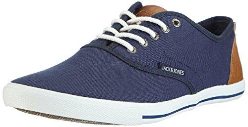 JACK & JONES Herren JJSPIDER URBAN Canvas Sneaker B Sneakers, Blau (Dress Blues), 41 EU