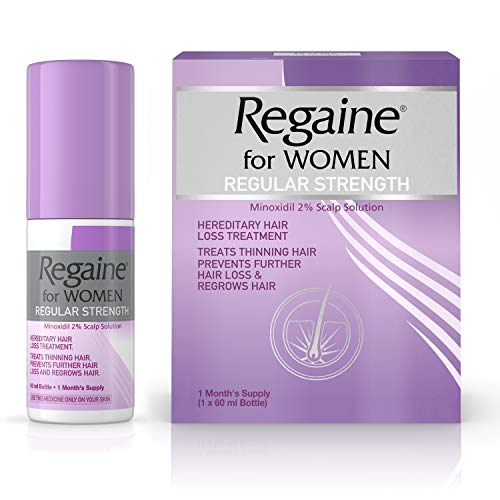 Regaine for Women Hair Loss & Regrowth Scalp Solution with Minoxidil, 60 ml, 1 Month Supply