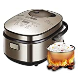 JOYDEEM AIRC-4001 Smart Induction Heating System Rice Cooker, 24-hours Pre-set Timer, 4 L 8 Cup Capicity