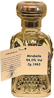 Rarität: Ziegler Mirabelle Jahrgang 1963-0,35l - Obstbrand