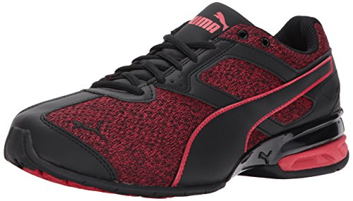PUMA Men's Tazon 6 Knit Sneaker,puma black-toreador,11 M US