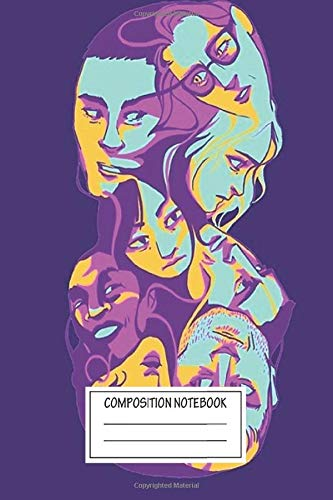 Notebook: Sense8 Wide Ruled , Journal for Writing, Size 6' x 9',...
