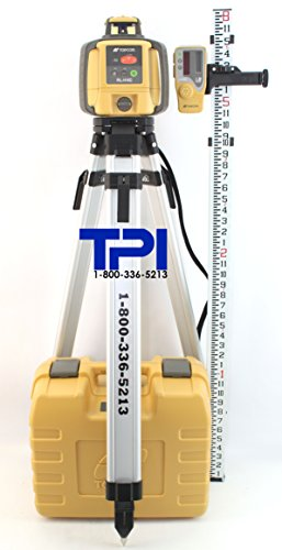 Topcon RL-H4C Horizontal Self-Leveling Rotary Laser with LS-80LR...