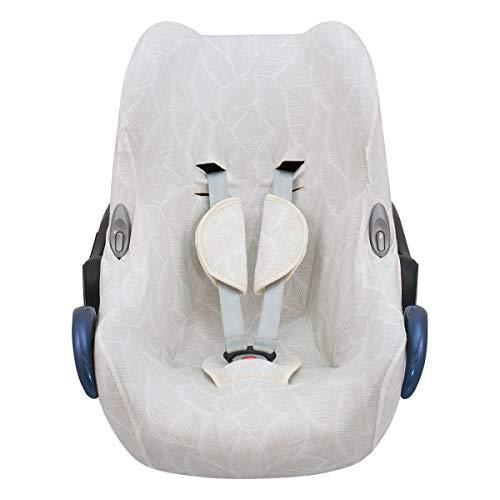 JANABEBE Funda compatible con Maxi Cosi Cabriofix, silla de coche gr 0 (Bloom)