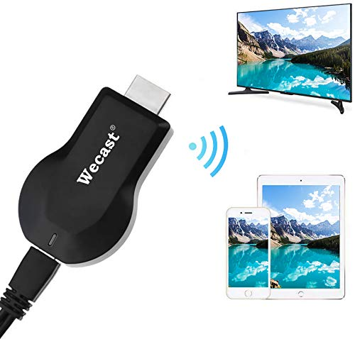 COOAU HDMI Wireless Display Adapter WiFi 1080P Mobile Screen Mirroring Receiver Dongle for iOS&Android to TV Projector Support Miracast Airplay DLNA