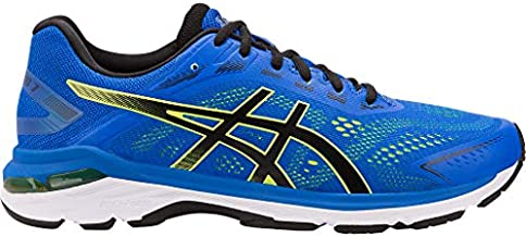 ASICS Men's GT-2000 7 Running Shoes, 7.5, Illusion Blue/Black