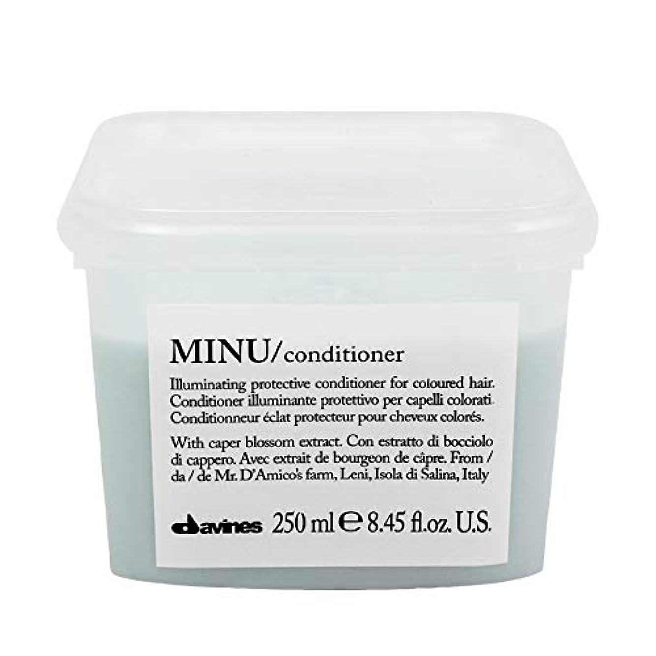 スキャンダラススラック製品[Davines ] ダヴィネスぬコンディショナー250ミリリットル - Davines Minu Conditioner 250ml [並行輸入品]