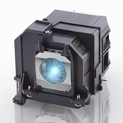 V13H010L79 80 Ersatz-Projektorlampada per Epson ELPLP79 ELPLP80 Home Cinema BrightLink 575Wi EB-570 EB-575W EB-575We EB-575WiEPSON EB-575Wie EPSON PowerLite 570 75 W. ektorlamp Mit Gehäuse