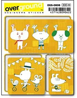 OGS-0606 吉田ユウスケ orange dialy アーティストグッズ イラストレーターステッカー