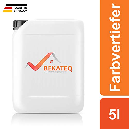 BEKATEQ Farbvertiefer 5l farblos, BE-856 Fleckschutz und Steinschutz Pflege innen aussen, lösemittelfrei