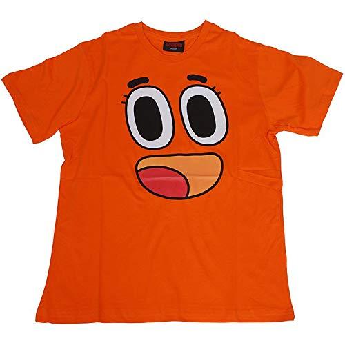 Gumball Darwin Watterson - Camiseta de manga corta, color naranja Naranja naranja 54