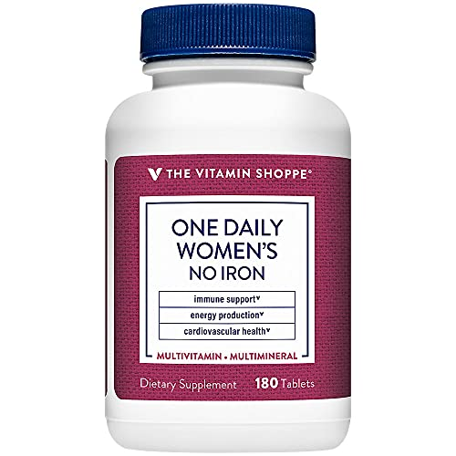 The Vitamin Shoppe One Daily Women's Multivitamin with No Iron,...