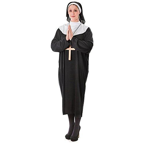 Bristol Novelty ac982monja Plus Size Costume, XL