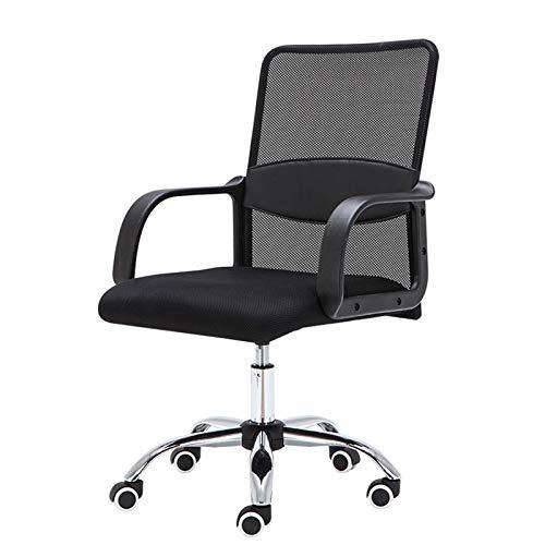 ZLQBHJ Sillas de escritorio de oficina, Las sillas ergonómicas de la oficina de malla Silla de oficina de malla giratoria Silla de escritorio Orientación vertical de silla de la computadora de malla a