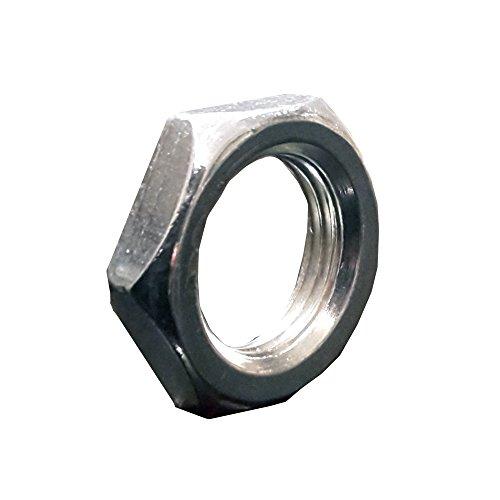 20 Stück Sechskantmutter M13x1 SW17 H. 4mm verzinkt sehr flach Feingewinde Gewindemutter 6-Kant Mutter