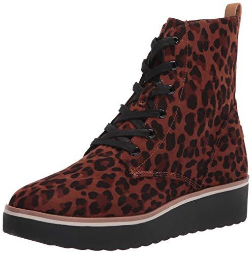 Dr. Scholl's Shoes Women's Local Mid Calf Boot, Black Leopard, 9.5