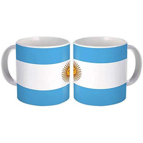 Argentina : Regalo Tazza : Bandiera Orgoglio Patriottico Expat Paese Argentino