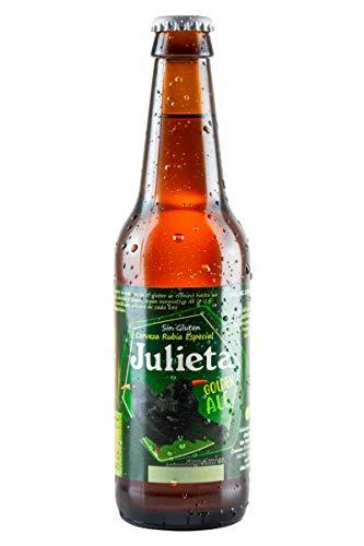 Cerveza JULIETA Rubia Sin Gluten 33 cl. Producto Islas Canarias.