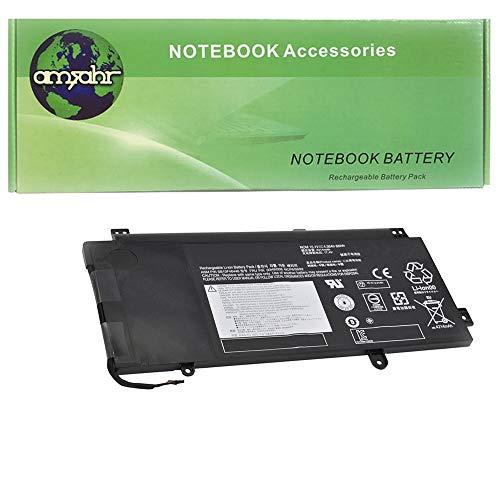 Amsahr SB10F46446-02 - Batería de reemplazo para Lenovo SB10F46446, Yoga 15 Lenovo 00HW008, 41CP6/58/92, SB10F46446, Color Gris