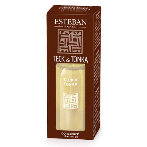Concentré de parfum Teck et Tonka - Esteban
