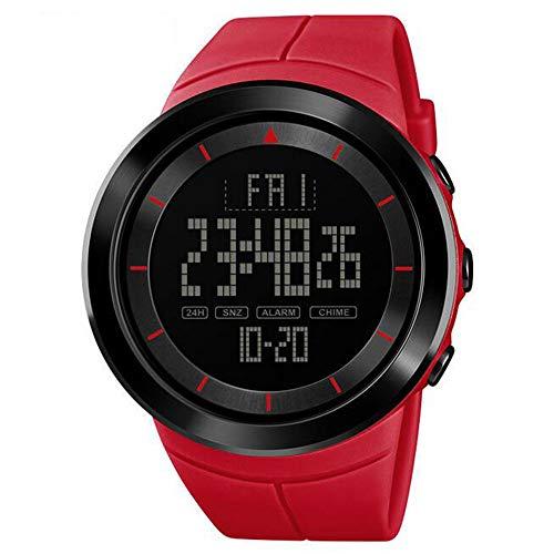 Reloj deportivo de moda/Reloj electrónico de estudiante multifunción/Reloj digital con pantalla impermeable