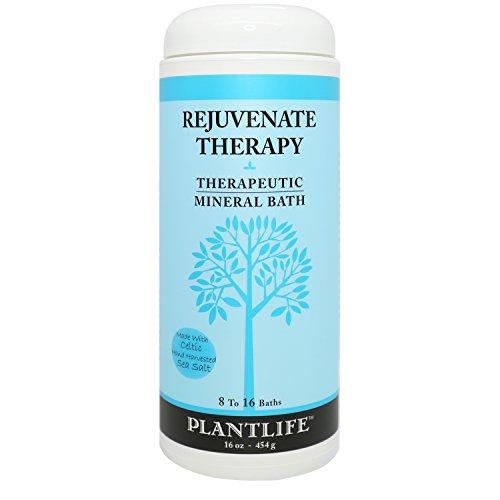 Rejuvenate Therapeutic Mineral Bath Salt - 16 oz
