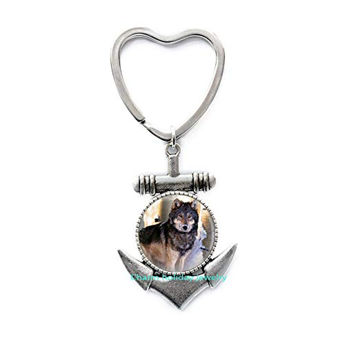 Llavero Ancla Hombre  marca Charm holiday jewelry