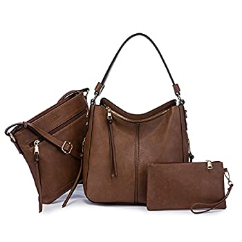 Hobo Bags for Women Medium Purses and Handbags Vegan Leather Designer Women Purse