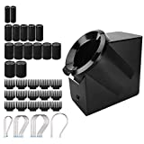 Styling Session Instant Heat Hot Pod Rollers, Large Heat Multi-Size Hot Rollers, with Heated Clips/Quick Release Holding Clips/U-Clip