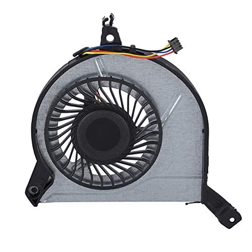 Bewinner CPU-ventilator voor HP 15-V 15-P 14-V 767712-001 4-pins ventilatorkoeler voor laptop DC 5 V Interne ventilator vervangen Interne ventilator vervang defecte, kapotte of defecte ventilator