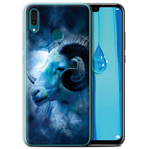 eSwish telefoonhoesje/over/huid/HUA-GC/Zodiac Star Sign Collection Huawei Y9 2019 Aries/Ram