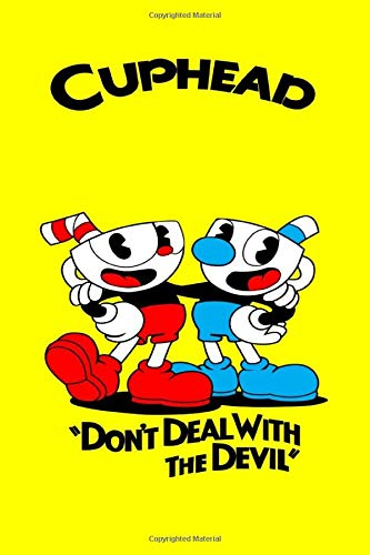 CUPHEAD: Cuphead game fans notebook journal gift