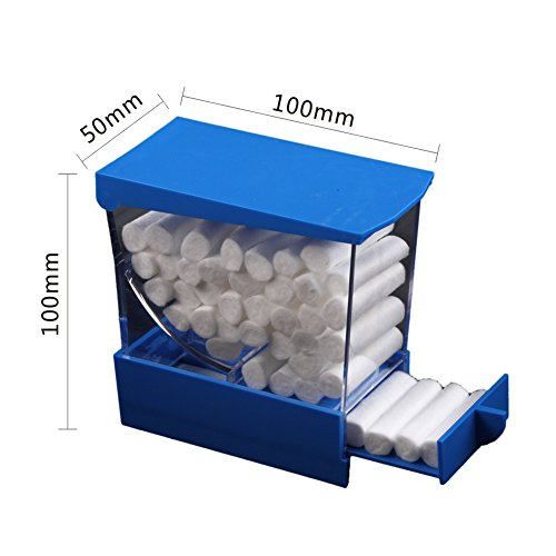 Easyinsmile Professional Cotton Roll Dispenser Holder Organizer Deluxe with Pull-out Tray