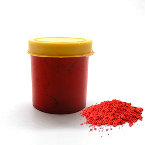 Whopper Pure Red Turmeric Kumkum Powder for Pooja and Other Hindu Rituals Pack of 12 (120 Gram)