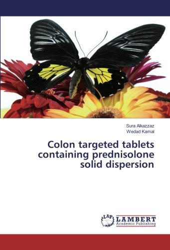 Colon targeted tablets containing prednisolone solid dispersion