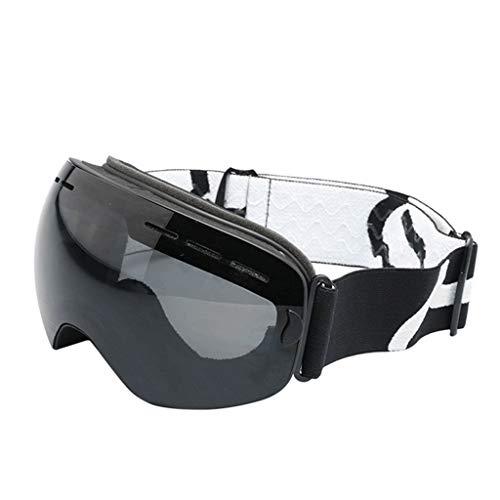 RWX Gafas De Esquí para Hombres Y Mujeres, Gafas De Esquí De Pantalla Completa Anti-UV, Gafas De Esquí De Pantalla Completa Y Nieve, Se Pueden Construir En Gafas De Adultos De Gafas De Miopía