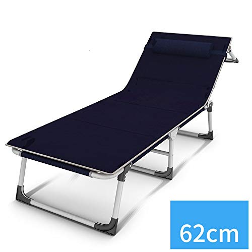 YQDSY Cama plegable portátil Cama de camping que se ensancha Cama plegable individual Cama plegable de oficina Cama de camping simple Silla plegable eh / 1005