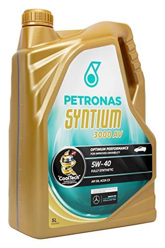 Petronas PET5405 Aceite DE Motor SYNTIUM 3000 AV 5 litros, Multicolor, 5W40 5L