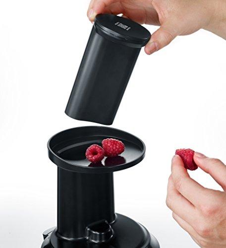 Slow Juicer Entsafter für Gemüse und Obst 150 W Bild 5*