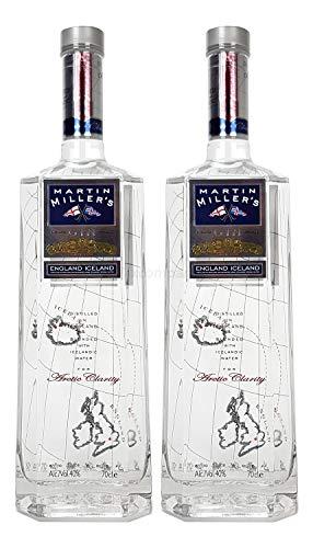 Martin Miller?s England Iceland Gin Set - 2x 0,7l = 1,4l (40% Vol) -[Enthält Sulfite]