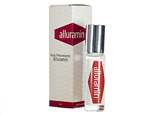 ALLURAMIN Premium afrodisiaci per gli uomini, molto efficace, suscita il desiderio sessuale e l'eccitazione sessuale nelle donne, concentrato di fragranza ai feromoni, 14ml