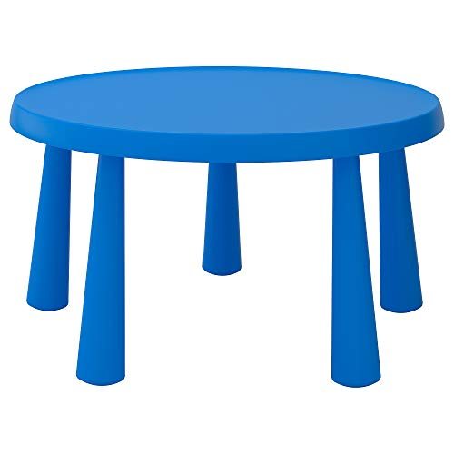 Mesa infantil MAMMUT 48x Ø85 cm interior/exterior azul