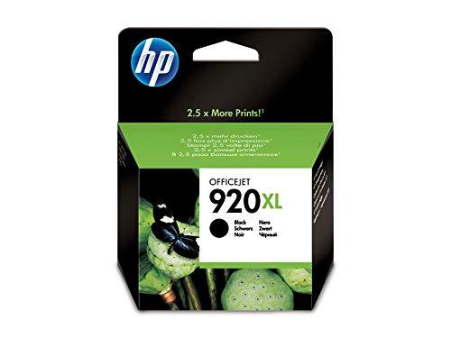 HP 920XL Original Druckerpatrone schwarz mit hoher Kapazität CD975AE