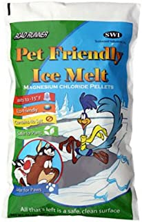 road runner 20 lbs pet friendly ice melt