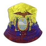 Ahdyr Polaina para el Cuello, Bandera de Ecuador, a Prueba de Viento, pañuelo para la Cara, Bufanda mágica para Hombres y Mujeres