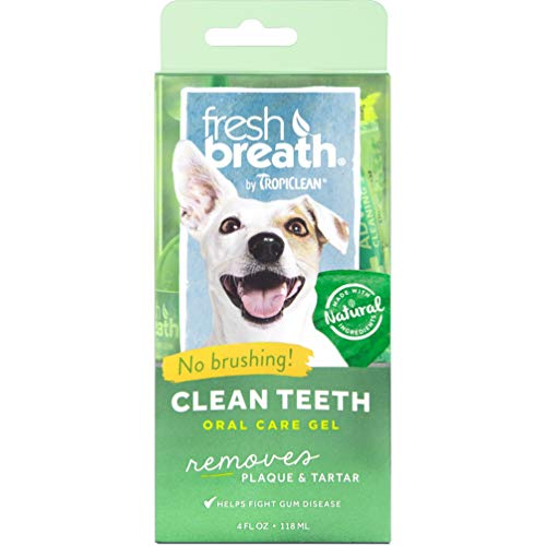 Fresh Breath by TropiClean No Brushing Clean Teeth...